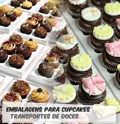 Embalagem para Cupcakes, Caixa para Cupcakes