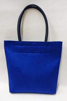 Bolsa Camurça Azul