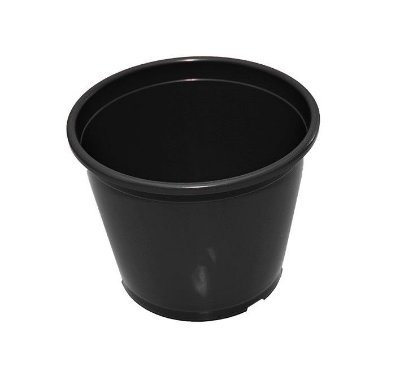 Vaso Plástico P20 - Preto - 2,8 Litros