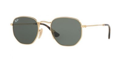 Ray Ban Hexagonal RB3548N 001 - Grande