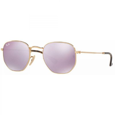 Ray Ban Hexagonal RB3548N 001/8O - Grande