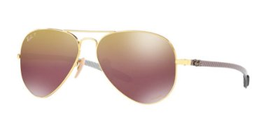 Ray Ban Aviador Chromance RB8317CH 001/6B
