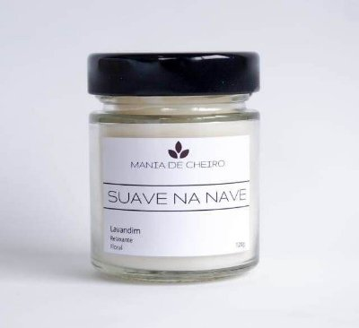 Vela Aromatizada Suave na Nave l Classic 120g (Floral)