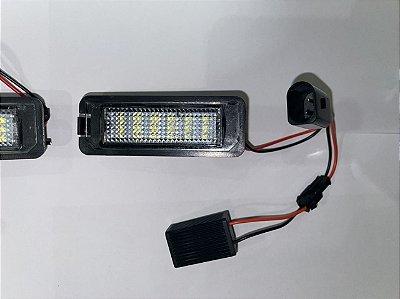 Kit de luzes internas Polo + Luz Placa Led + Todas as luzes internas led