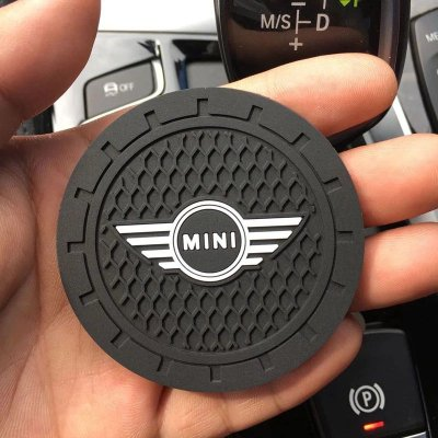 Acessório Porta Copo De Borracha Para Mini Cooper