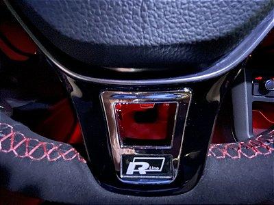 Aplique  R volante Volkswagen Polo Golf UP Virtus