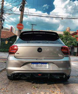 Difusor VW Polo GTS com Breaklight + Barbatanas
