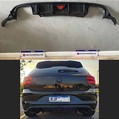Difusor Quad VW Polo com Brakelight e Barbatanas Instacarsonline