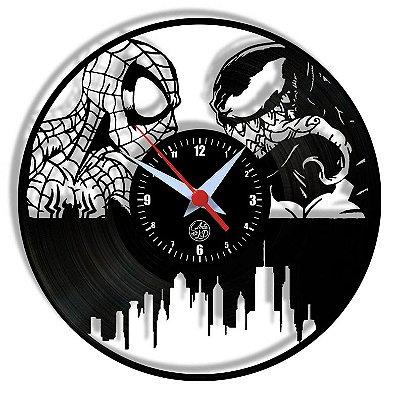 Relógio de Vinil - Spiderman Homem Aranha