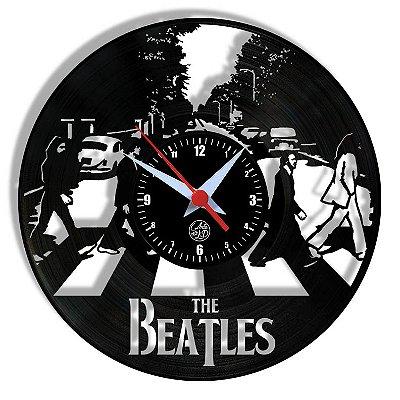 Relógio de Vinil - The Beatles Abbey Road