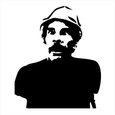 Adesivo de Parede - Seu Madruga Vesgo Don Ramon Tv/Séries Chaves