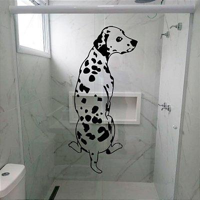 Adesivo para Box - Cachorro Dalmata Pets