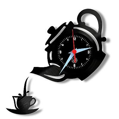 Relógio de Vinil - Bule