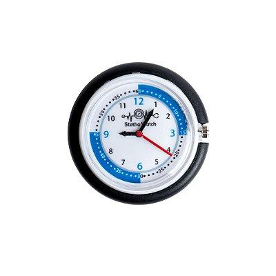 Relógio para Estetoscópio Stetho Watch Preto