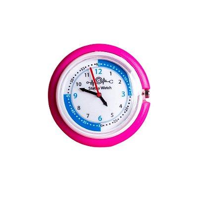 Relógio para Estetoscópio Stetho Watch Rosa