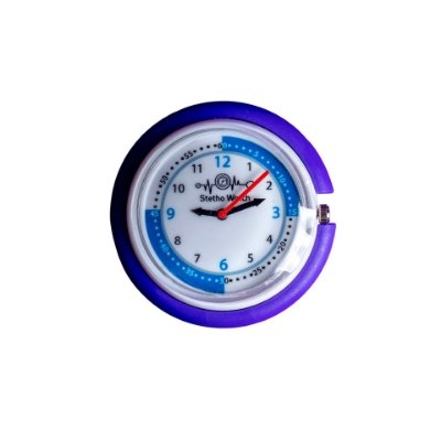Relógio para Estetoscópio Stetho Watch Roxo