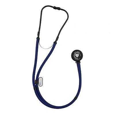 Estetoscópio PAMED Rappaport Azul Black Edition EST509