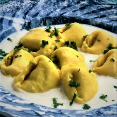Tortelli (amarelo) de Presunto e Queijo 1kg