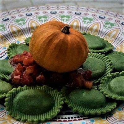 Raviollini (verde) Zucca (Abóbora) 1kg