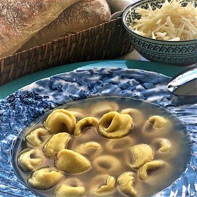 Capeletti (Queijo) in brodo (1kg + 5 potes de Brodo (400g)