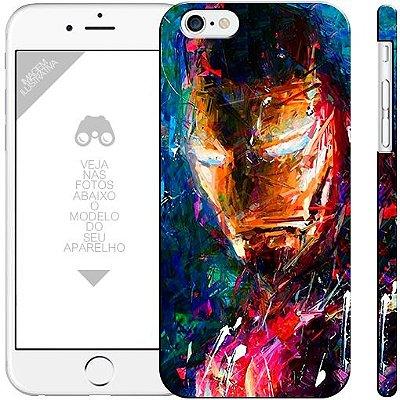 HOMEM DE FERRO - heróis 10| apple - motorola - samsung - sony - asus - lg |capa de celular