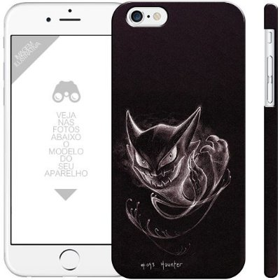 POKÉMON - Haunter 0001 |  apple - motorola - samsung - sony - asus - lg | capa de celular