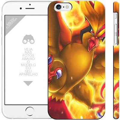 POKÉMON - PIDGEOT 002  |  apple - motorola - samsung - sony - asus - lg | capa de celular