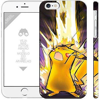 POKÉMON - Pikachu 0001  |  apple - motorola - samsung - sony - asus - lg | capa de celular