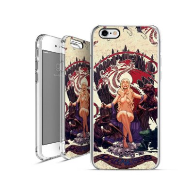 GAME OF THRONES Daenerys-Targaryen| apple - motorola - samsung - sony - asus - lg|capa de celular