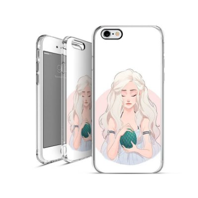 GAME OF THRONES Daenerys-Targaryen 4| apple - motorola - samsung - sony - asus - lg|capa de celular