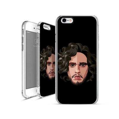 GAME OF THRONES jon-snow 2| apple - motorola - samsung - sony - asus - lg|capa de celular