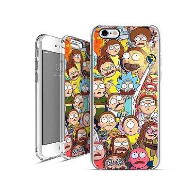 RICK AND MORTY | apple - motorola - samsung -  sony - asus - lg | capa de celular
