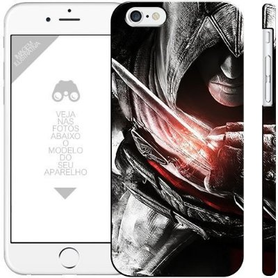 ASSASSIN'S CREED 3 - games|apple - motorola - samsung - sony - asus - lg |capa de celular