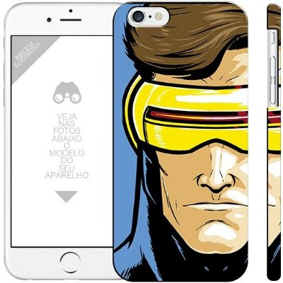 CICLOPE X-MEN - heróis 2| apple - motorola - samsung - sony - asus - lg | capa de celular