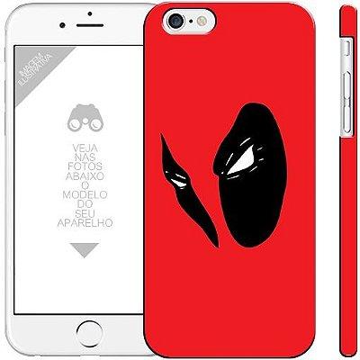 DEADPOOL - herói - 00  | apple - motorola - samsung - sony - asus - lg | capa de celular