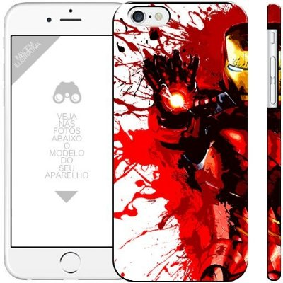 HOMEM DE FERRO - heróis 2| apple - motorola - samsung - sony - asus - lg |capa de celular