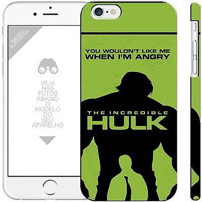 HULK - coleção heróis 03| apple - motorola - samsung - sony - asus - lg | capa de celular