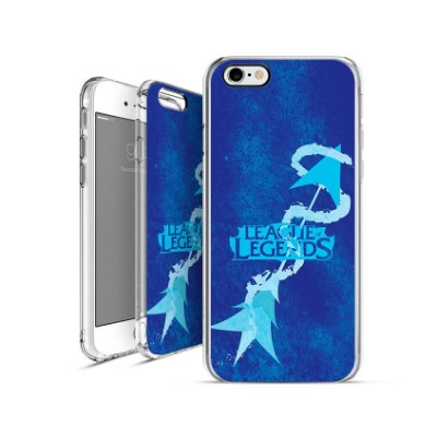 LEAGUE OF LEGENDS -  Ashe -|apple - motorola - samsung - sony - asus - lg|capa de celular