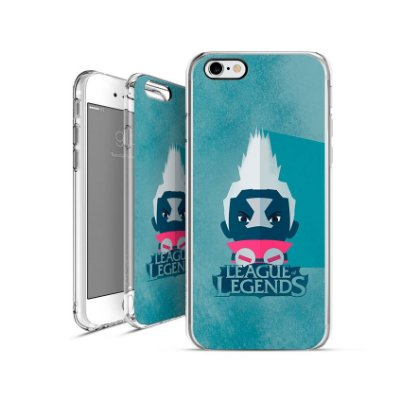 LEAGUE OF LEGENDS -  Ekko | apple - motorola - samsung - sony - asus - lg|capa de celular