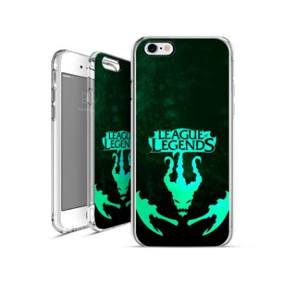LEAGUE OF LEGENDS -  Thresh |apple - motorola - samsung - sony - asus - lg|capa de celular