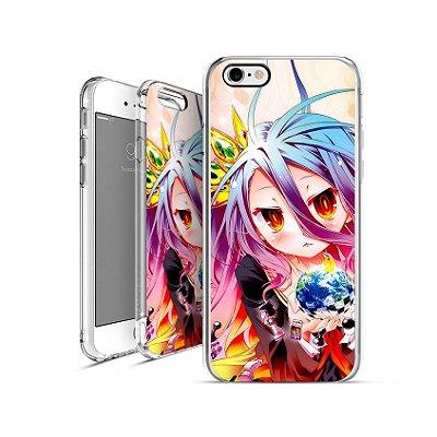 NO GAME NO LIFE anime 1   apple - motorola - samsung - sony - asus - lg   capa de celular