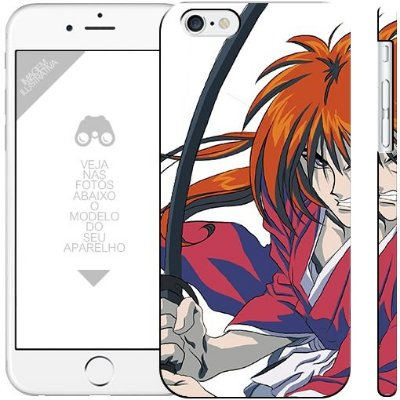 SAMURAI X anime 00 1 02  | apple - motorola - samsung - sony - asus - lg | capa de celular