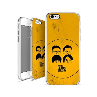 THE BIG BANG OF THEORY  | apple - motorola - samsung - sony - asus - lg | capa de celular