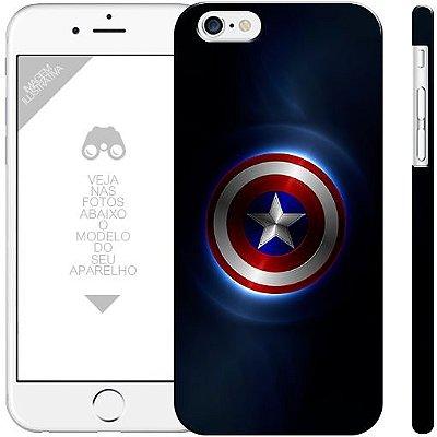 CAPITÃO AMÉRICA  - heróis 1|apple - motorola - samsung - sony - asus - lg|capa de celular