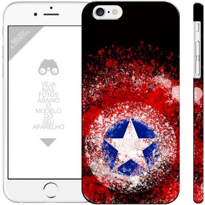 CAPITÃO AMÉRICA  - heróis 2|apple - motorola - samsung - sony - asus - lg|capa de celular