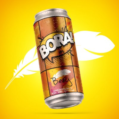 Bora! India Pale Lager - unidade de 473ml