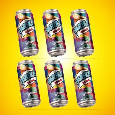 Partiu! Juicy American Pale Ale - pack com 6 unidades de 473ml