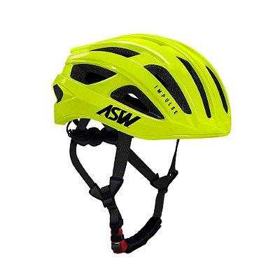 Capacete ASW Bike Impulse Amarelo Fluorescente