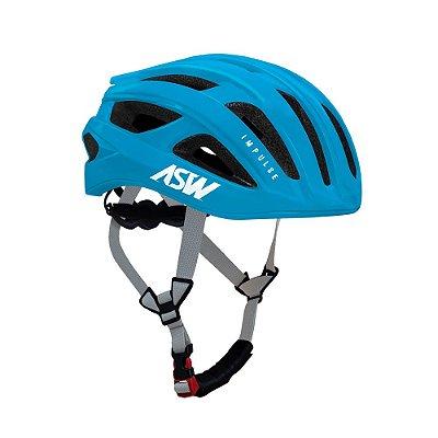 Capacete ASW Bike Impulse Azul Claro