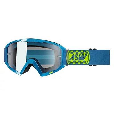 Óculos ASW A2 Check Azul/Amarelo Fluor